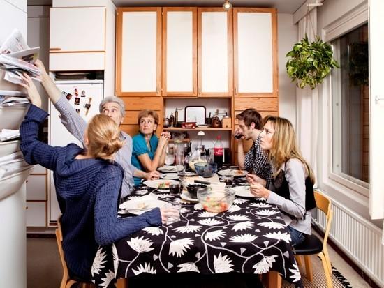 Les finlandais à table - Stéphanie Lacombe