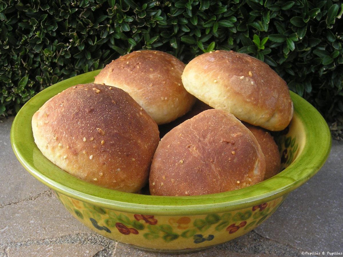Petits pains aux céréales et 3 graines