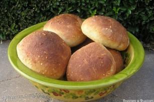 Petits pains aux 5 céréales et 3 graines