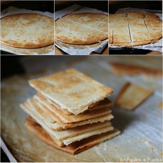 Réalisation des carrés de pâte feuilletée