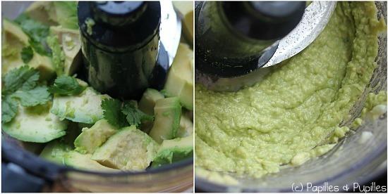 Réalisation du guacamole