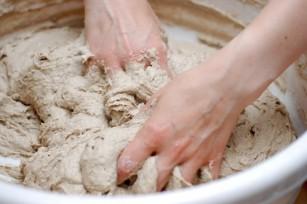 Réalisation de la pâte à pain