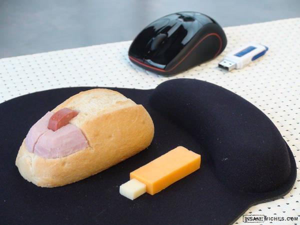 Sandwich pour geek