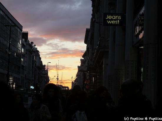 Soleil couchant - Londres