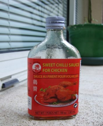 Sweet chili sauce for chicken