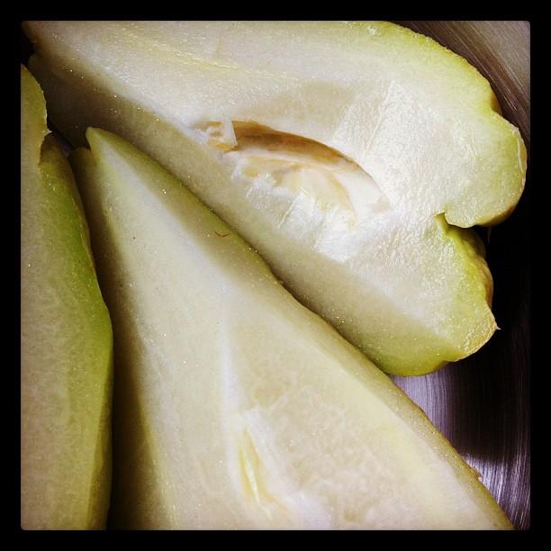 Non ce ne sont pas des poires #christophines