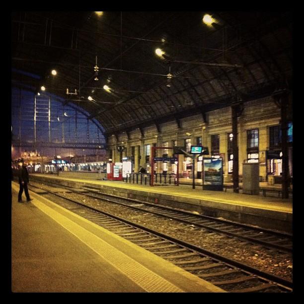 Gare Saint Jean - les quais