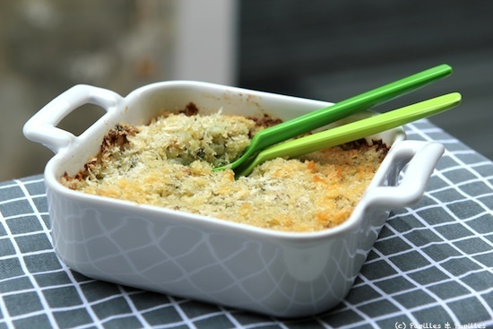 Gratin de christophines aka chayottes