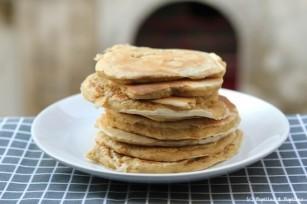 Pancakes aux flocons d avoine