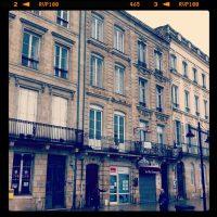 Quai des Chartrons, Bordeaux - sous la pluie