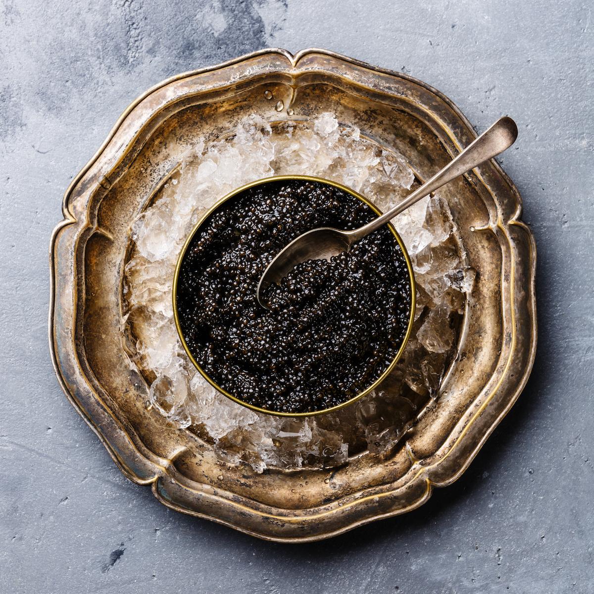 Caviar ©Lisovskaya Natalia shutterstock