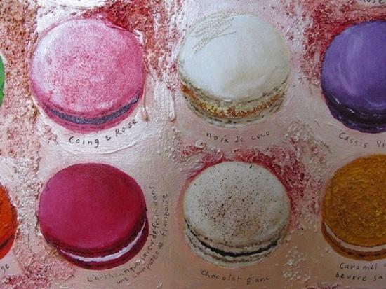 Macarons - Chris Chun - Détail - Coings et rose - noix de coco.jpg