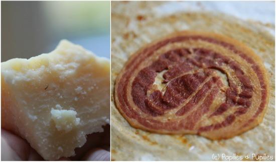 Parmesan et Pancetta