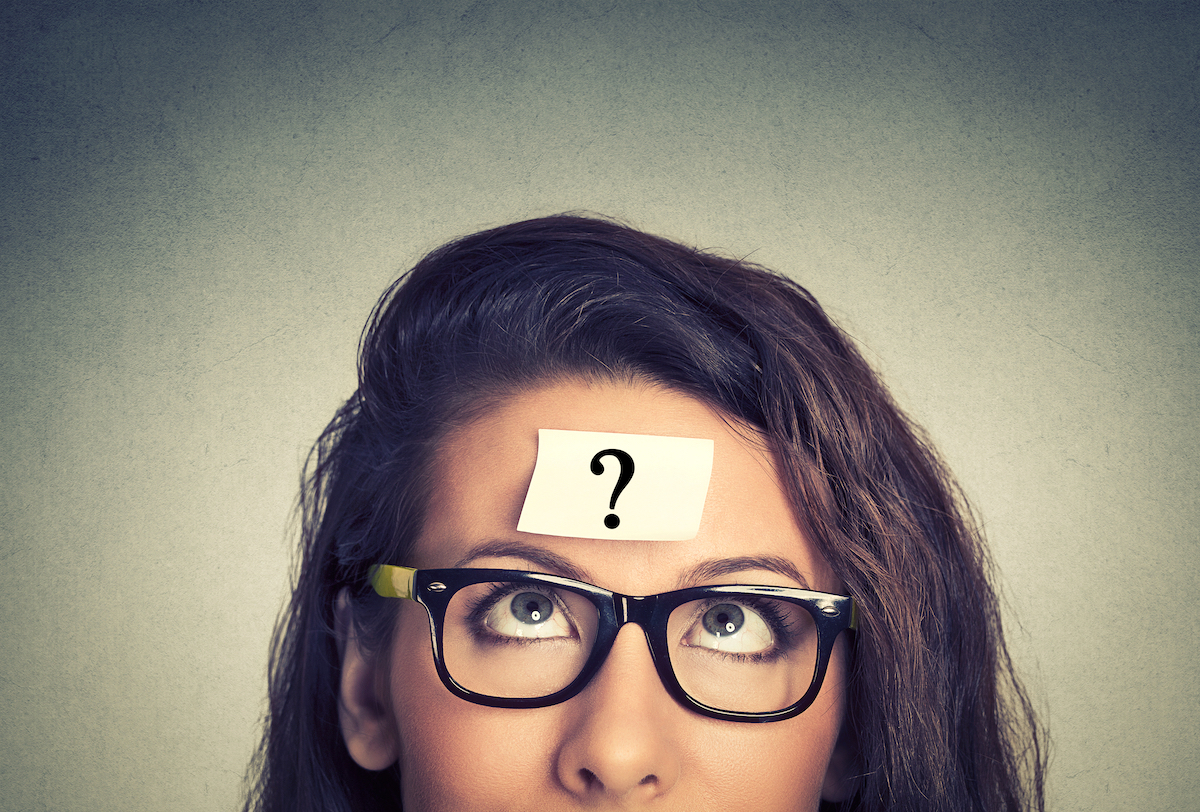 Question © ESB Professional shutterstock