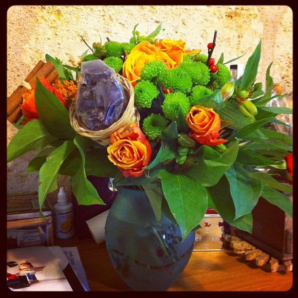 Merci @aufeminin pour ce très joli bouquet gourmand ;)