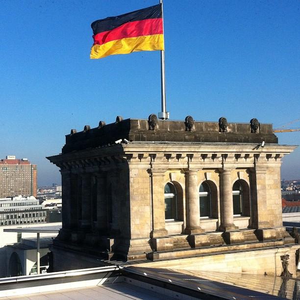 Vue du Reichstag - Berlin