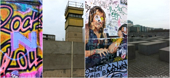 Berlin : Graffitis, le mur et le mémorial de l'holocauste