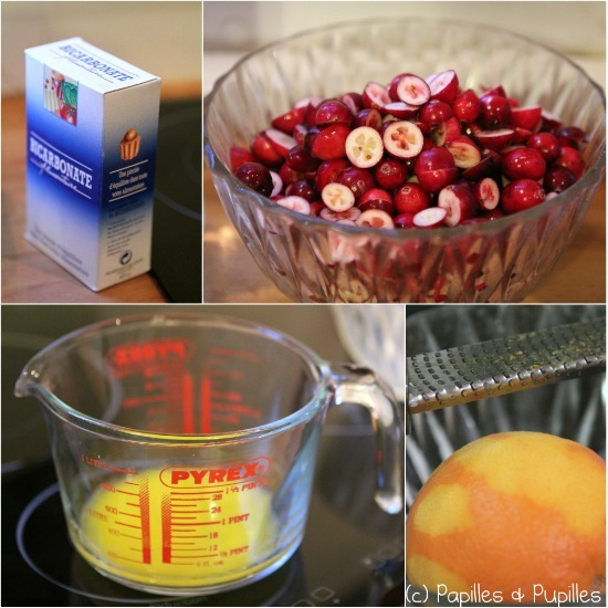 Cake en cours de préparation