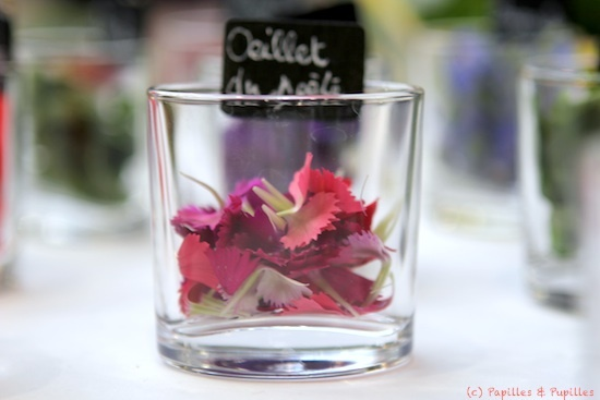 Fleurs comestibles - Oeillets du poète