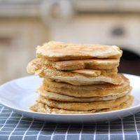 Pancakes aux flocons d'avoine ©P&P