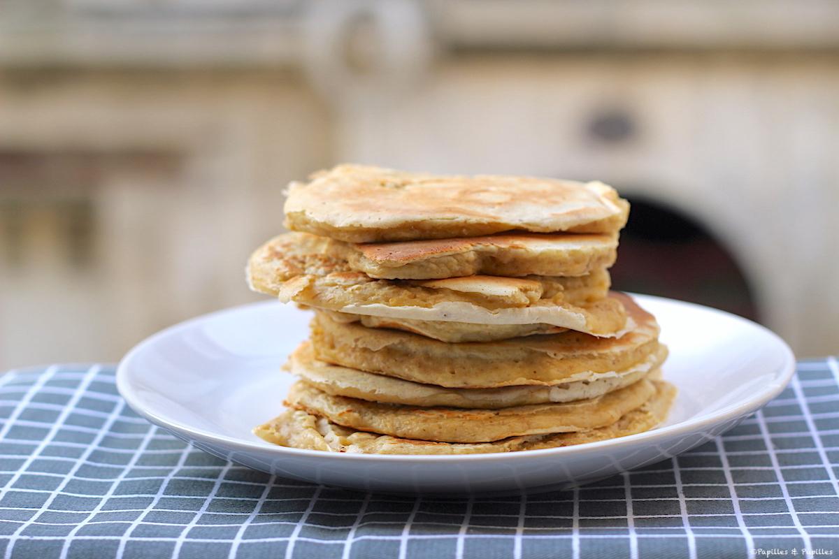 Recette de Pancakes aux flocons d'avoine