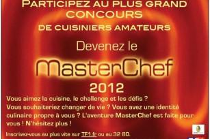 Participez à MasterChef 2012
