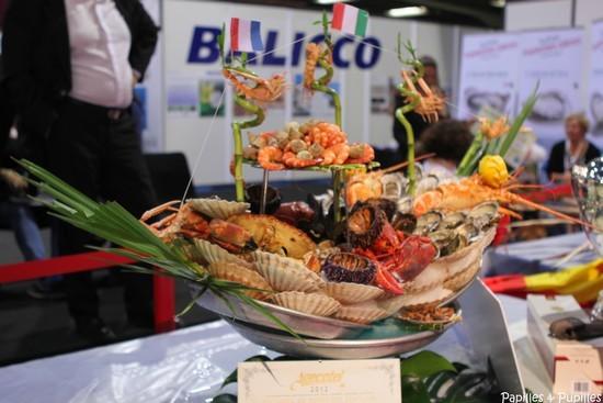 Plateau du vainqueur de l'édition 2012 - Cristian PERRIA représentant l'Italie et travaillant au Café de Turin à Nice