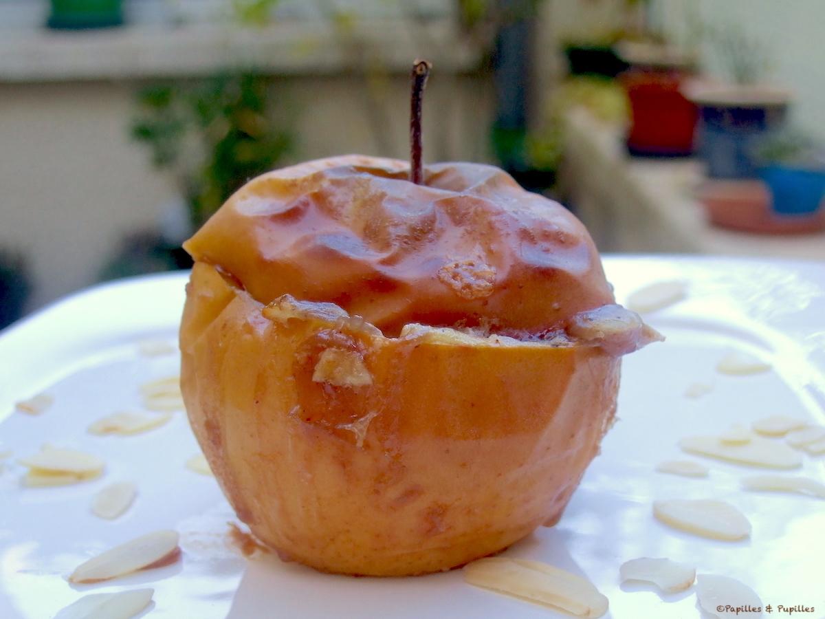 Pommes au four à la crème de marrons