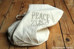 Sac Peace and Wool