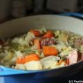 Soupe paysanne à la saucisse de Morteau