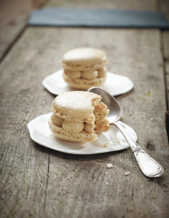 Macarons à la crème de spéculoos