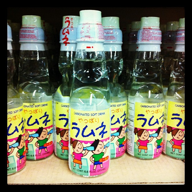 Limonade japonaise trop kawaï