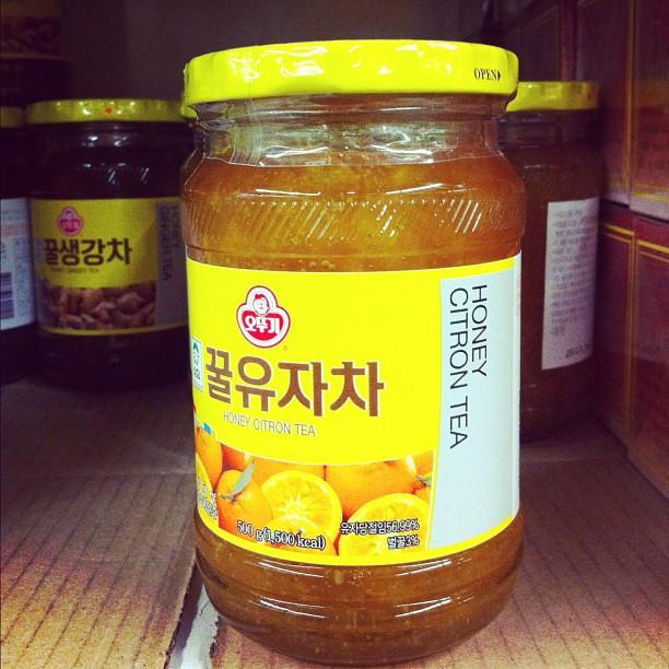thé au citron coréen