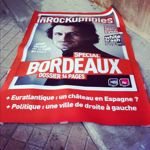 Les inrocks spécial Bordeaux