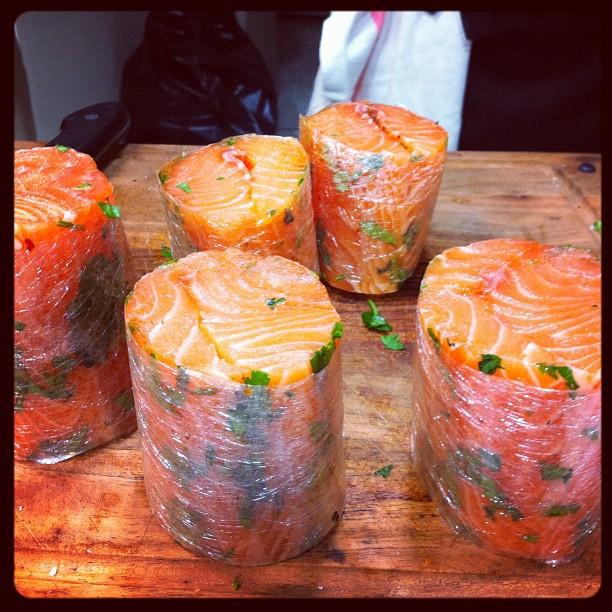 Tournedos de saumon