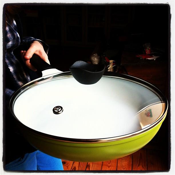 S'en va tester les poêles en céramique #cookut - affaire à suivre