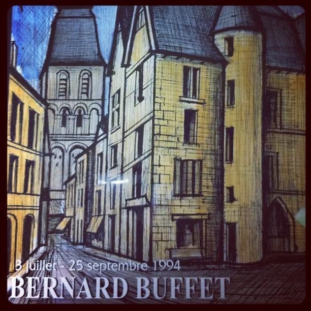 #Sarlat #BernardBuffet