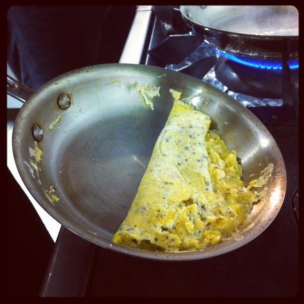 Omelette à la tapenade de truffes #aquitania #allcladfr