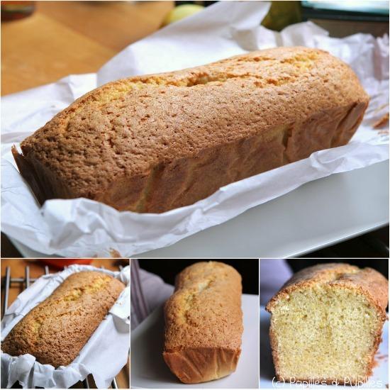 Cake au citron de Christophe Felder - Etapes