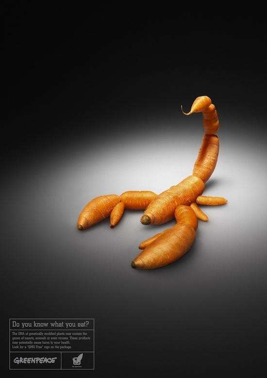Carotte scorpion