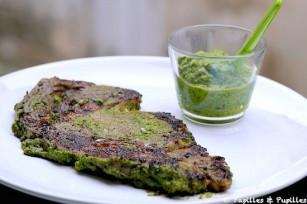 Entrecôte sauce Chimichurri