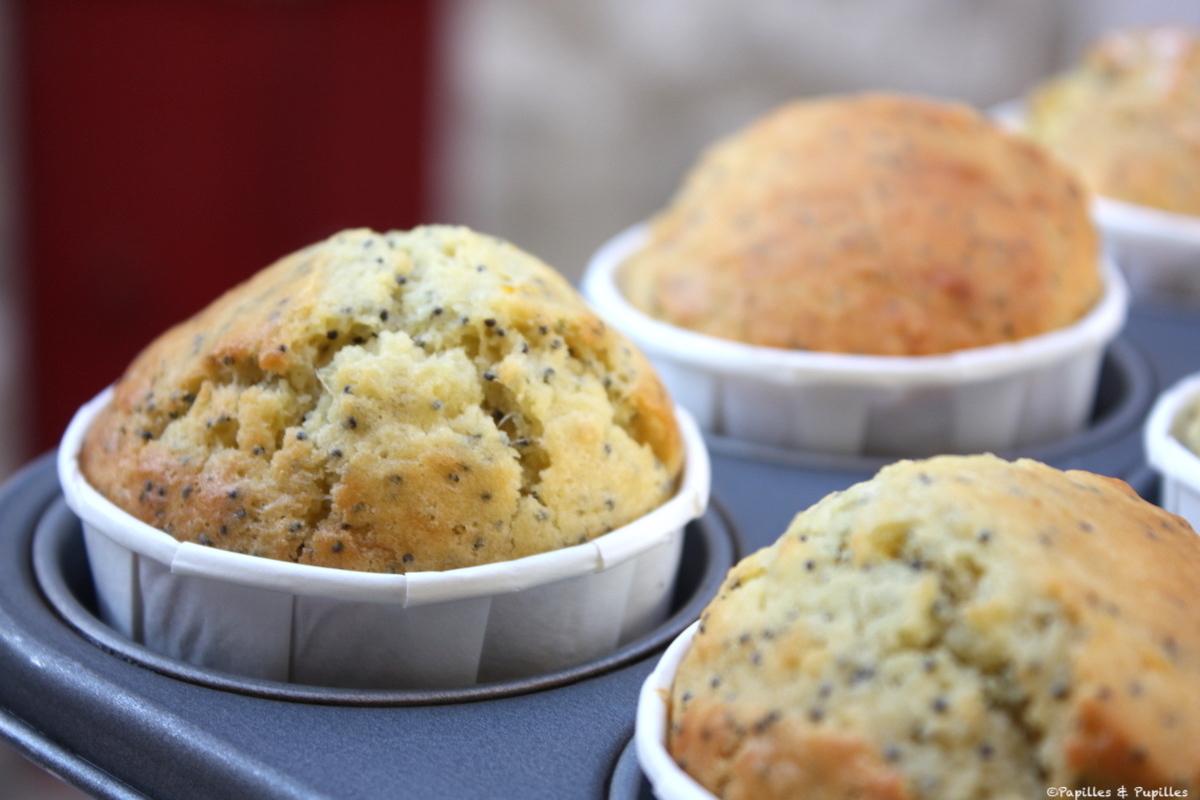 Muffins yuzu pavot