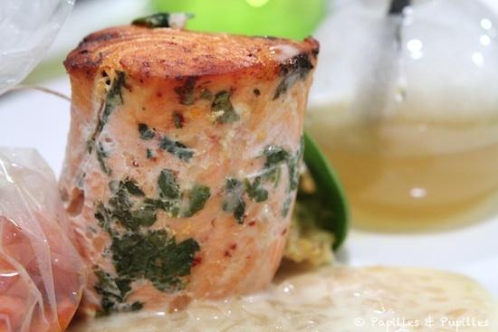 Tournedos de saumon prêt à manger