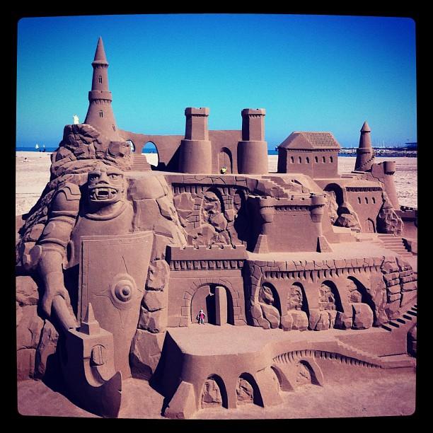 Château de sable #valencia