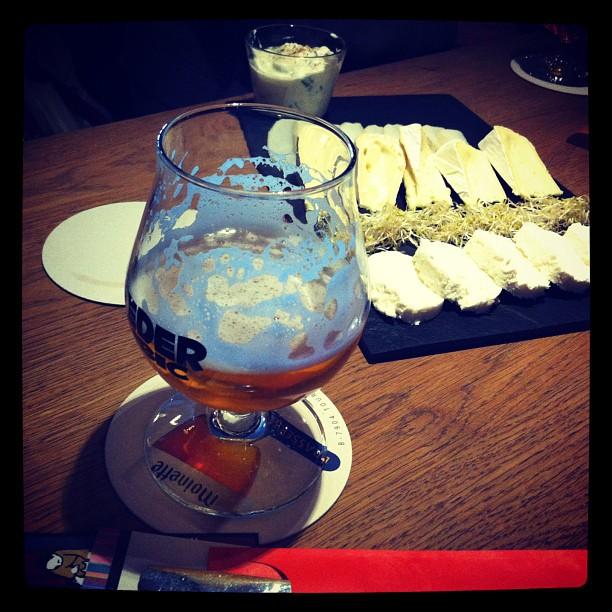 Bière et fromages