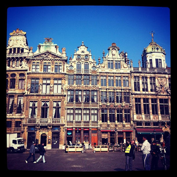 Émerveillée par la Grand Place #bruxelles sublime !