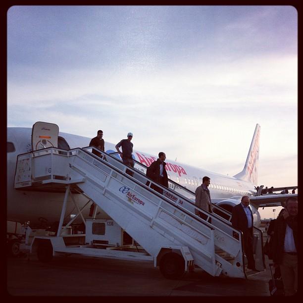 Bien arrivée à Valence !