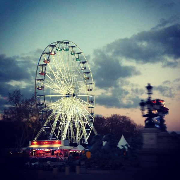 Place des quinconces - coucher de soleil #bordeaux