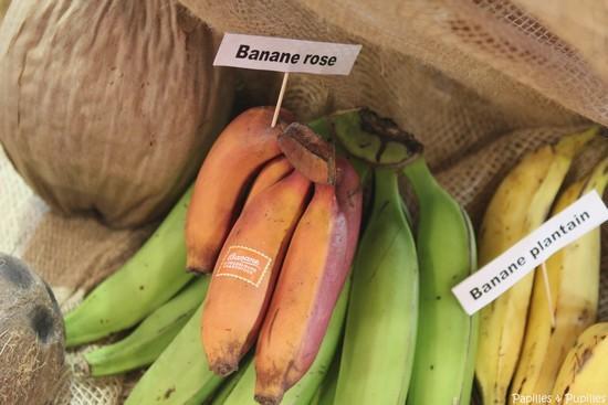 Bananes roses