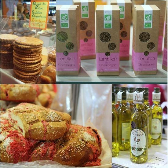 Broyé du Poitou, lentillon de Champagne, Pogne de Romans et Huile d'olive de Nyons